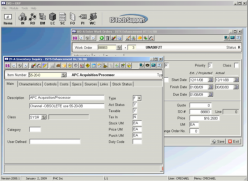 Evo~ERP Software Screen Shot